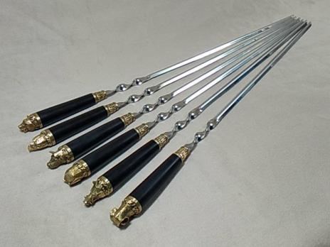 Шампура с деревянной ручкой «ПИКНИК ГРАБ»