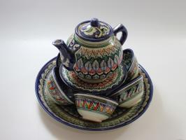 Чайный набор узбекской посуды МЕХРОБ