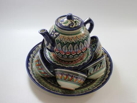 Узбекская посуда Набор керамики №2