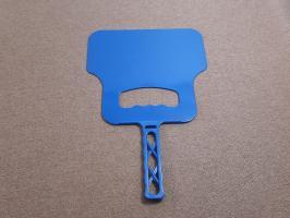 Веер для мангала синий