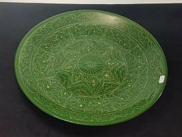 Ляган 38см (зеленый)