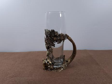 "Кружка пивная подарочная ""Охота на кабана"""