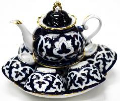 Чайный набор узбекской посуды ПАХТА