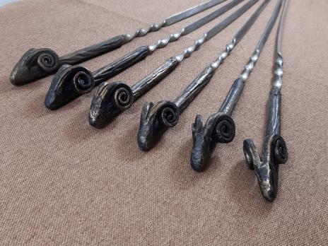 Кованые шампура Барашек